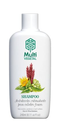 Shampoo de Ervas Fortalecimento Capilar 240ml| Multivegetal