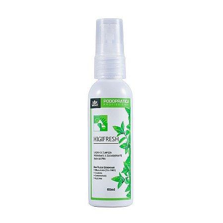 Higifresh - Loção de limpeza hidratante e desodorizante para os pés 60ml|WNF