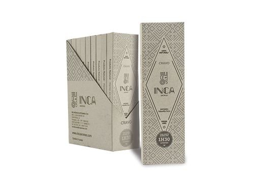 Incenso Terapêutico Natural Cravo |Inca Aromas