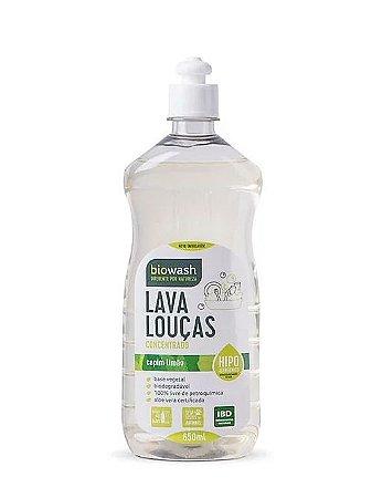 Lava Louças Capim Limão 650ml|Biowash