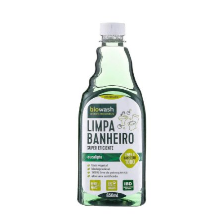 Limpa Banheiro Eucalipto 650ml|Biowash
