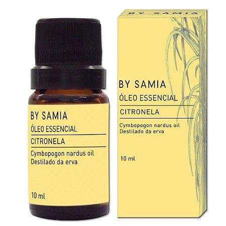 Óleo Essencial Citronela 10ml | By Samia