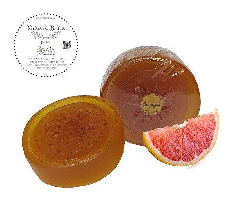 Sabonete Vegetal Artesanal Grapefruit 80gr | Pedras & Bolhas