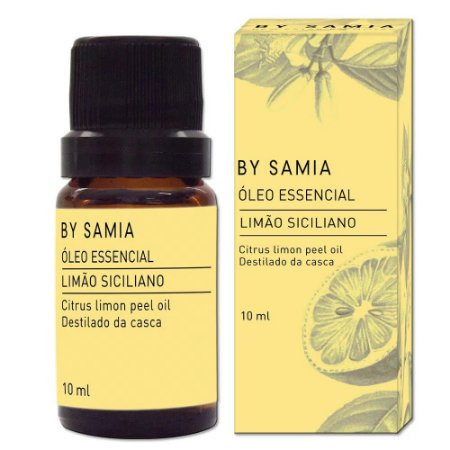 Óleo Essencial Limão Siciliano 10ml | By Samia