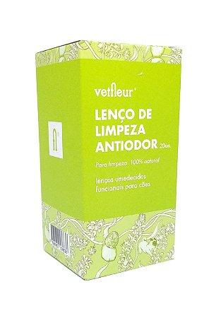 Lenço de Limpeza Anti-odor 20un   Vetfleur