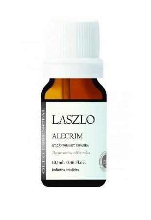 Óleo Essencial Alecrim (QT Cânfora) 10ml | Laszlo