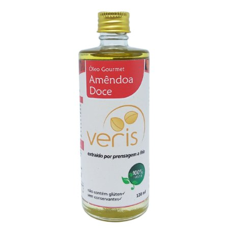 Óleo Vegetal Amêndoa doce 120ml | Veris Brasil