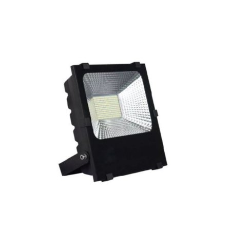 Refletor Holofote Led Branco Ctb 200w Bivolt Resistente Agua
