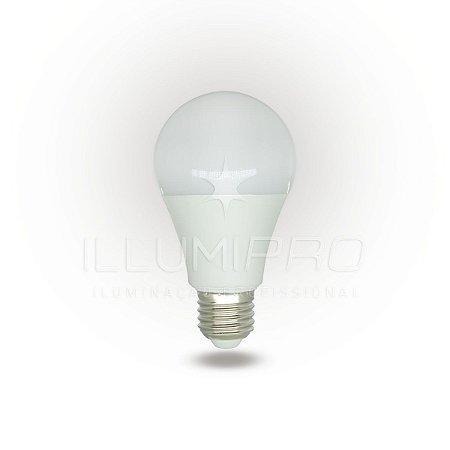 Lampada Led Bulbo A60 9W Luz Amarela CTB