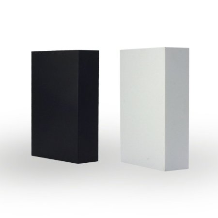 Arandela Led 4w 2 faxos Branca Branco Quente CTB BLPB-4B-BR/BQ