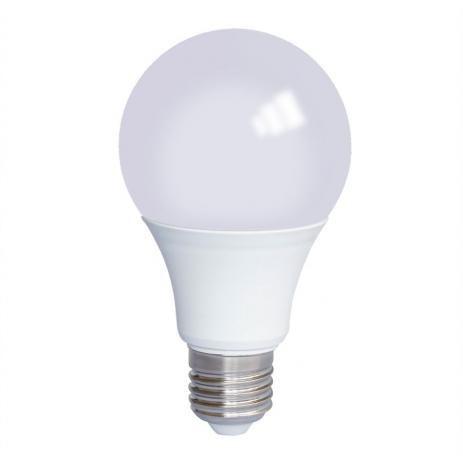 Lampada Led Bulbo A60 12W Luz Amarela