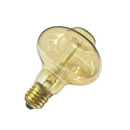 Lampada Filamento De Carbono 40w 110v Branco Quente BCF-BR85 CTB