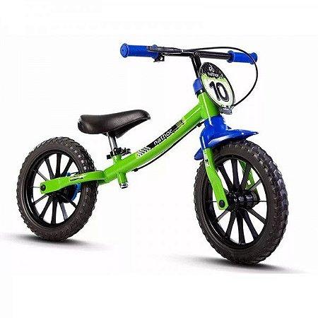 Bicicleta Balance Pre Bike Sem Pedal Infantil Menino Nathor
