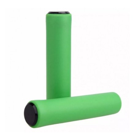 Manopla Punho High One Silicone Verde 135mm Mtb - Par