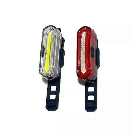 Farol E Vista Light Lanterna Absolute JY-6055 Recarregável LED - Par