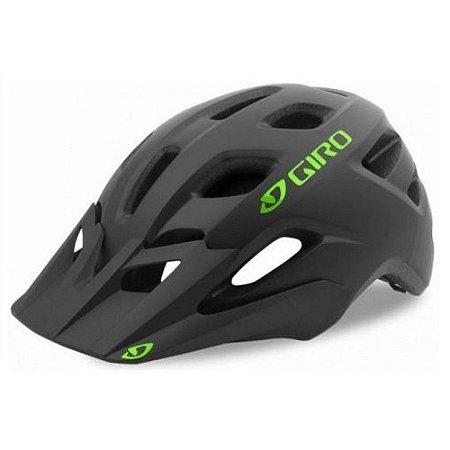 Capacete Giro Tremor Preto Fosco Roc Loc Ciclismo