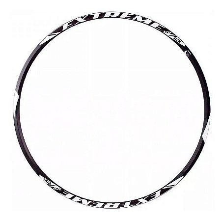 Aro 29 Vzan Aluminio Extreme Disco 28 Furos Preto Bicicleta