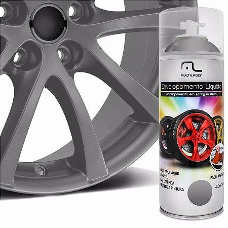 Spray De Envelopamento Líquido Multilaser Prata 400 Ml Und