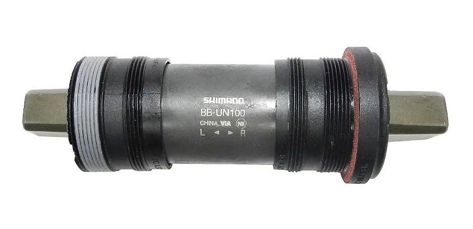 Movimento Central Shimano Bb Un100 Ponta Quadrada 122,5mm