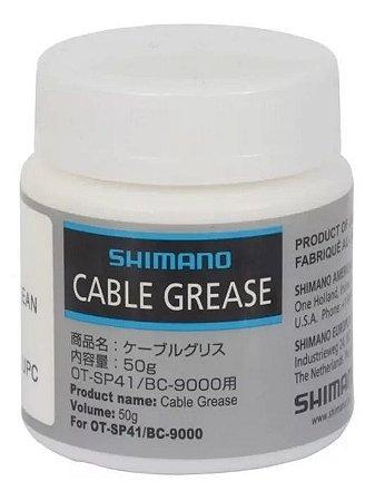 Graxa Para Cabos Shimano Ot-sp41 Bc-9000 Pote 50 Gr Branca