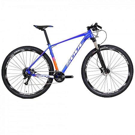 Bicicleta Soul SL429 Aro 29 Azul Laranja e Branca 20v