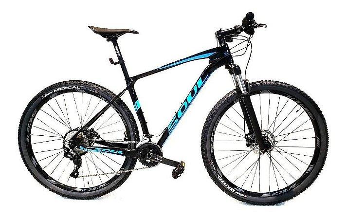 Bicicleta Soul Etna Carbon 20v Shimano Deore Tam M