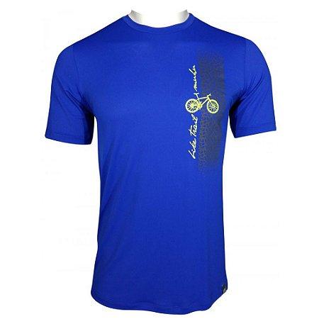 Camisa Muhu Bike Trail Azul Royal Thermal Dry Masculino