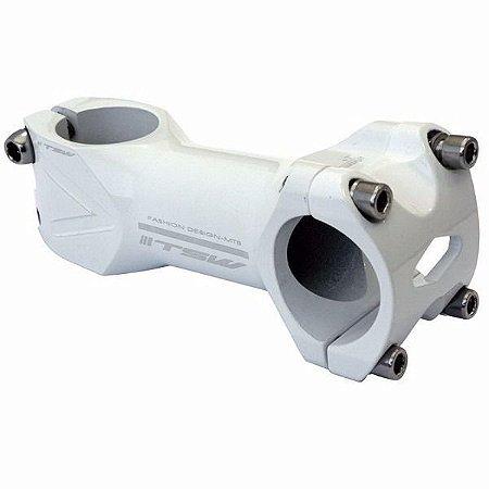 Avanco Tsw 31.8 90mm Aluminio Branco Mesa Mega Over Bike