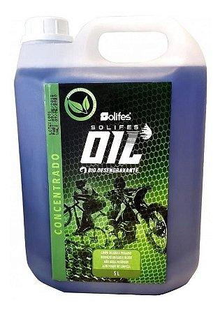 Galão Bio Desengraxante Solifes Oil Moto Bike Mtb 5 Litros