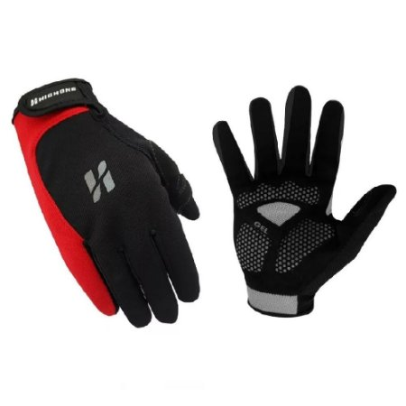 Luva High One Fast Long Pro Hand Mtb Ou Speed Preta Vermelha