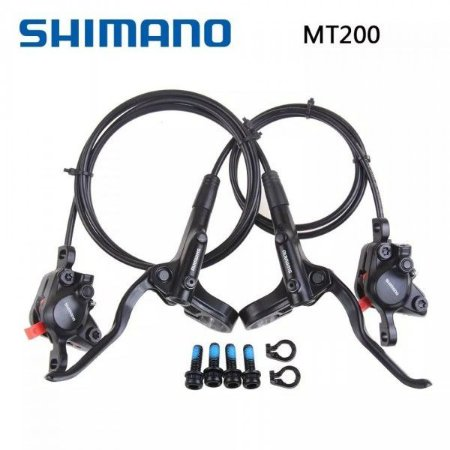 Freio A Disco Hidráulico Shimano Br-mt200 Dianteiro e Traseiro - Par