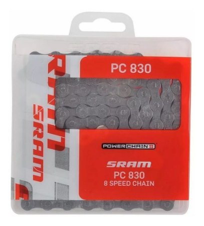 Corrente Sram Pc 830 C/ Powerlink Speed Mtb 8v 24v X3 X4