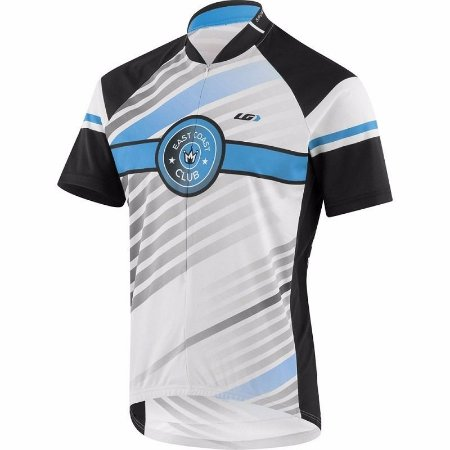 Camisa Louis Garneau Club East Coast Azul Mtb Dry Tamanho M