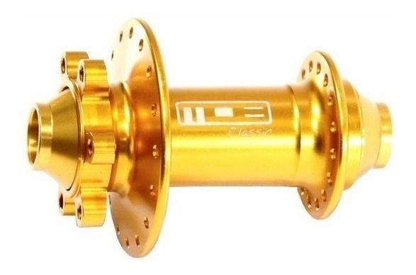 Cubo Dianteiro Mob 15mm Classic Dourado Disco Eixo 15mm 32 F