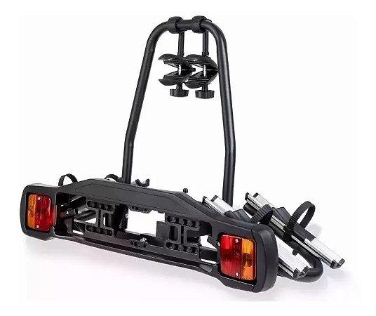 Transbike Rack Para Engate 2 Bikes Placa Sinalizador Legal