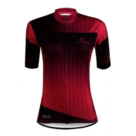 Camisa Ciclismo Mauro Ribeiro Beat Feminina Rosa Preto