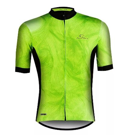 Camisa Ciclismo Mauro Ribeiro Guide Verde Fluor Mtb Speed