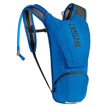 Mochila De Hidratação Térmica Camelbak Classic 2,5l Azul Ciclismo