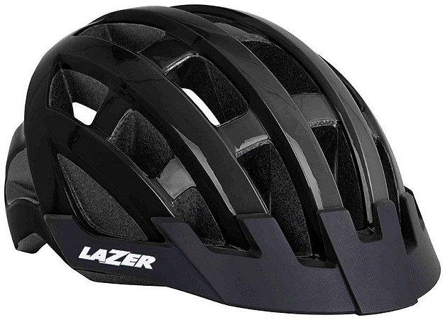 Capacete Lazer - Compact - Preto