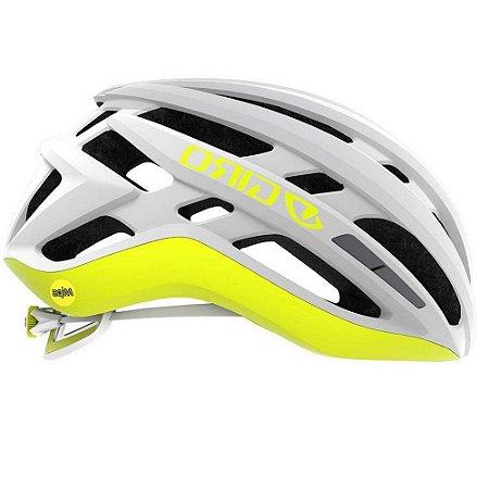 Capacete Ciclismo Bike Giro AGILIS  MIPS Original  Cor Matte White Citron