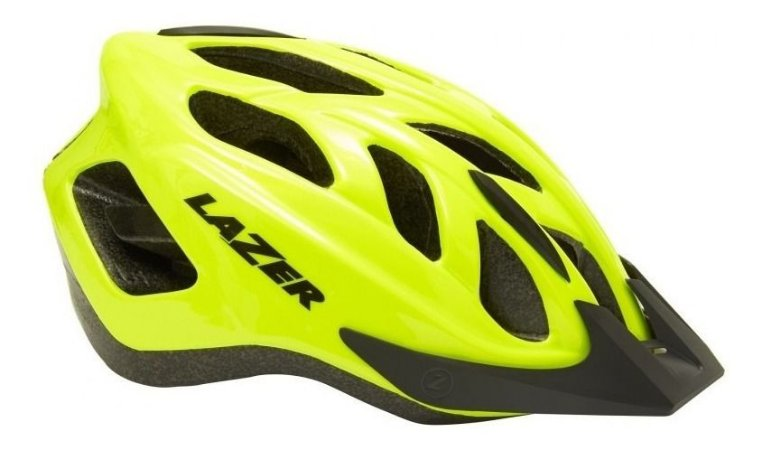 Capacete Lazer Cyclone Amarelo Fluor Ciclismo Speed Mtb Bike