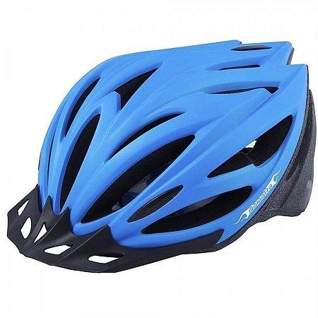 Capacete Damatta Comp Azul Com Regulagem Ciclismo Mtb Xc - Tamanho G