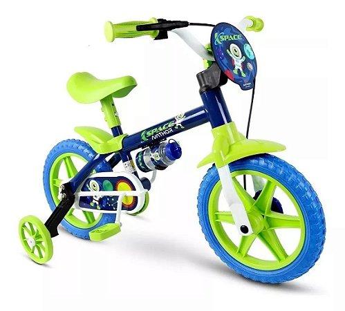 Bicicleta Infantil Criança De 3 A 5 Anos Aro 12 Nathor Space
