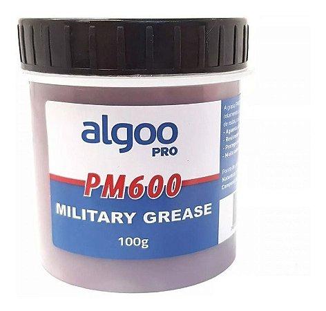 Graxa Algoo Pro Militar Pm600 Rolamento Suspensão Dir. 100gr