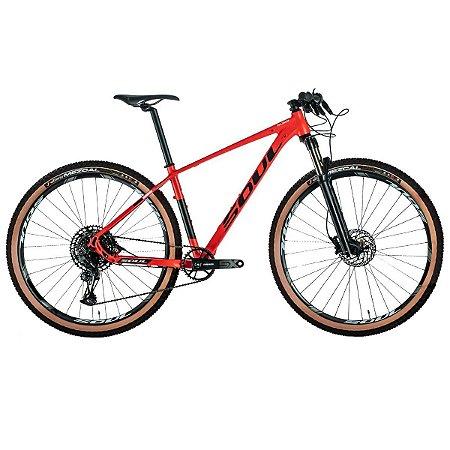 Bicicleta Soul SL329 12V SX Eagle Sram Rock Shox Vermelha