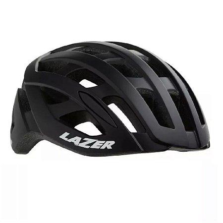 Capacete Speed Lazer Tonic Preto Fosco Black Mat LZB-10 Bike