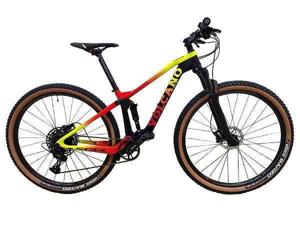 Bicicleta Aro 29 Soul Volcano Carbon 12v Sram Sx Eagle