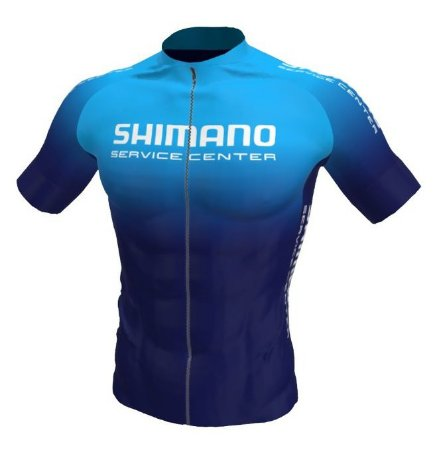 Camisa Ciclismo Shimano Service Center Degrade