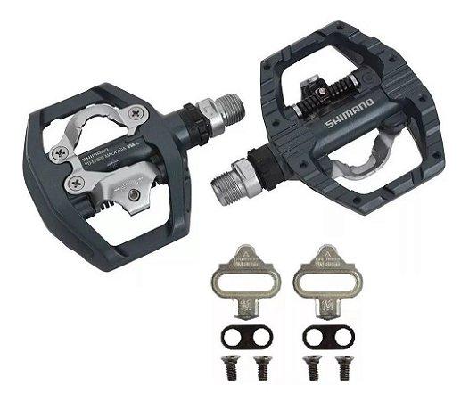 Pedal Shimano Pd-eh500 Plataforma Clip Com Tacos Original