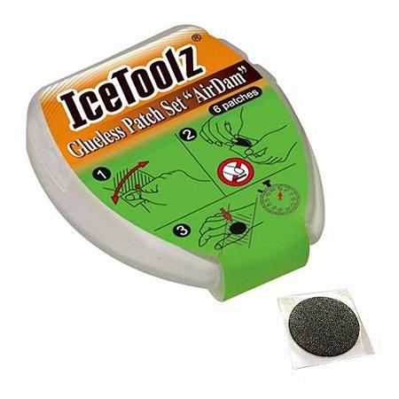 Estojo De Remendo Ice Toolz 56p6 Tipo Airdam 6 Remendos - Kit